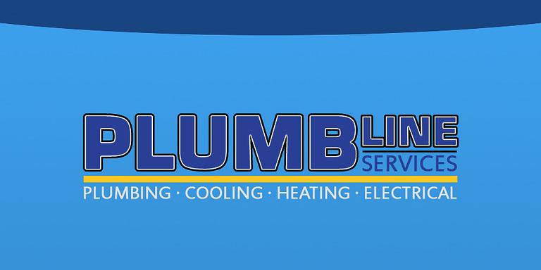 Plumbline HVAC official company logo