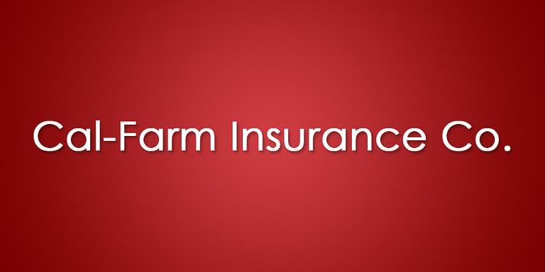 Cal-Farm Insurance official company logo